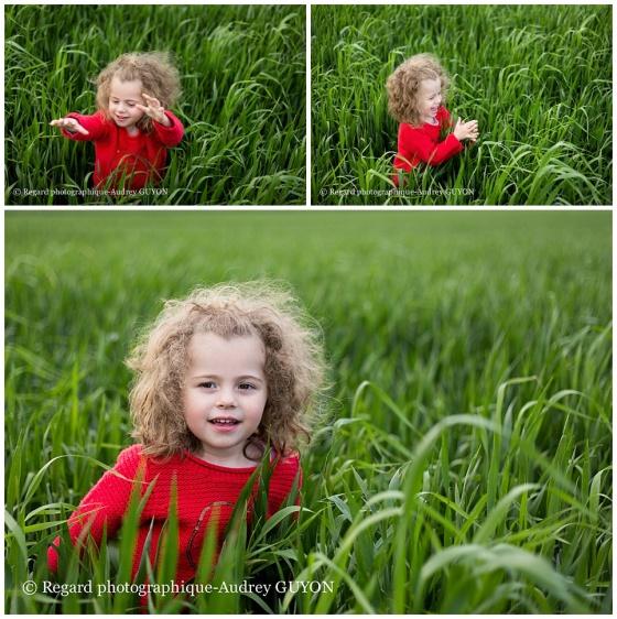 promenade dans les champs, autisme au quotidien